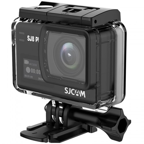 SJCAM SJ8 Plus Native Dual Screen WiFi Action Camera - BLACK
