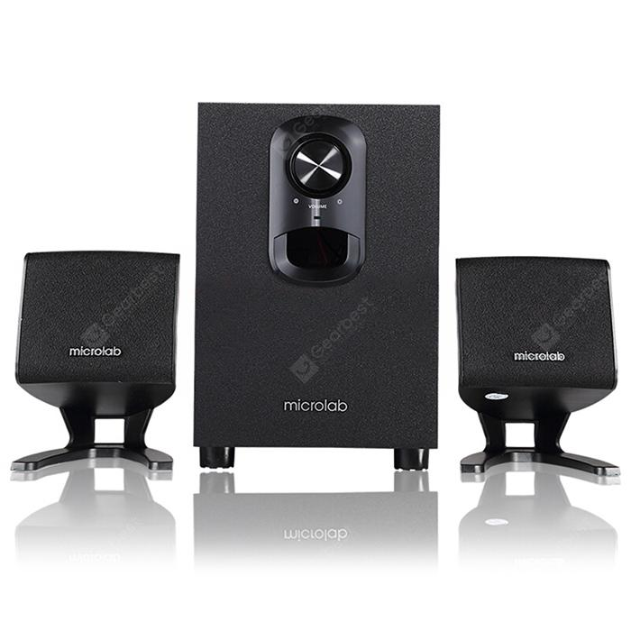 Microlab M108 Multimediako Hizlaria Set - BLACK
