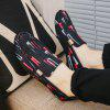 Men Trendy Printed Soft Anti-slip Loafer Shoes - RED