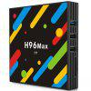 H96 MAX - H1 TV Box - BLACK