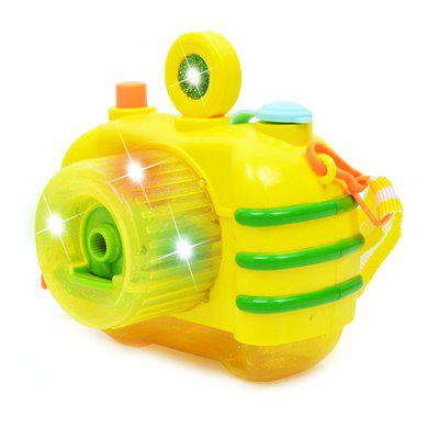 Light Music Bubble Camera Novelty Gag Toys