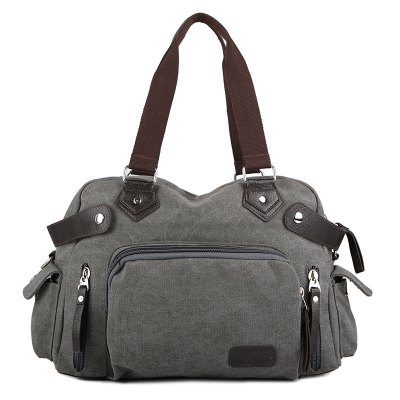 Durable Canvas Men Handbag