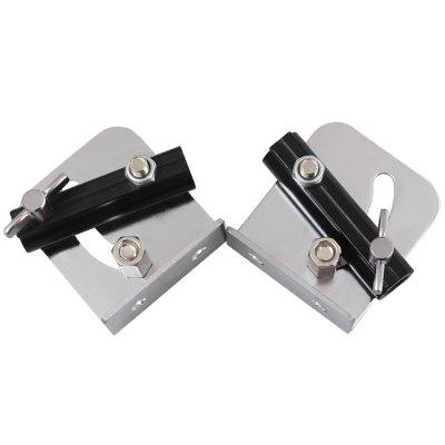 Strap Stand Fixed Part with Screw for Snare Drum 2pcs 2pcs black strap button mounting screw for guitar mandolin