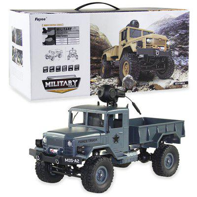 FY001A 1/16 WiFi 0.3MP Brushed Military Truck RTR
