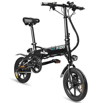 FIIDO D1 Folding Electric Bike Moped Bicycle hot healthy household bicycle super mute younger dynamic magnetic bike fitness equipment pedal bicycle exercise to lose weight