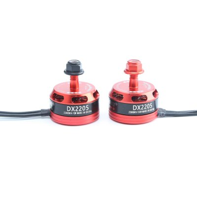 Buy DONGXINGWEI DX2205 2300KV 2 - 4S Brushless Motor 2PCS GEARBEST