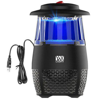 YWXLight USB Non-toxic LED Insect Fly KillerElectronic Mosquito Trap Lamp