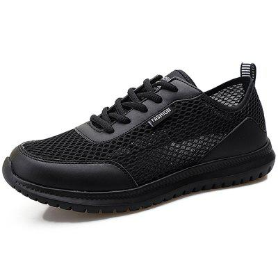Men Chic Breathable Anti-slip Sneakers Athletic Shoes