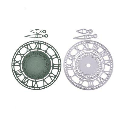 DIY Carbon Steel Clock Pattern Cutting Die diy oval lace window embossed mould carbon steel cutting die
