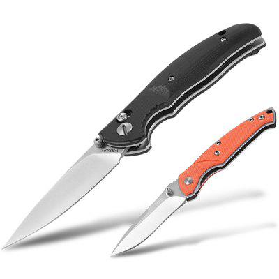Y - START JIN02 + Sanrenmu 6029LUC - GJ Folding Knife