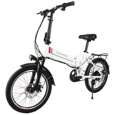 Samebike 20LVXD30 Electric Folding Moped Bicycle E-bike Image