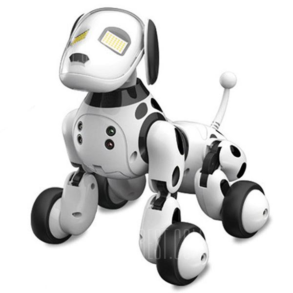 DIMEI 9007A Intelligent RC Robot Dog Toy Gift - WHITE
