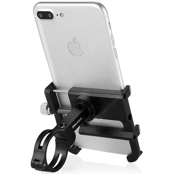 GUB PLUS 6 Cell Phone Holder for Motorcycle Bicycle Bike - Black