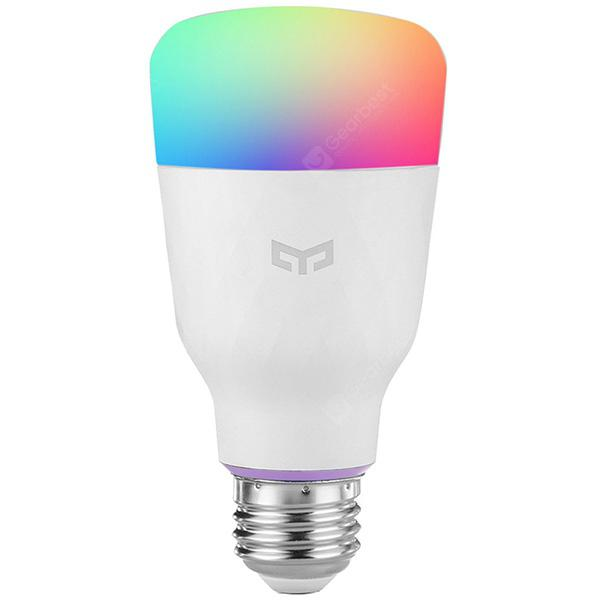 Xiaomi YEELIGHT 10W RGB E27 Smart Light Bulbs - White E27 1PCS