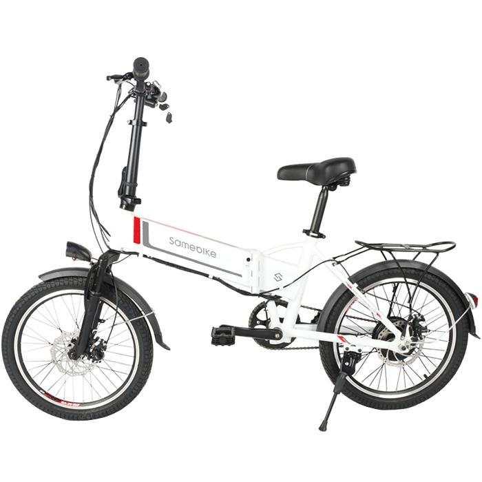 Samebike 20LVXD30 Smart Folding Moped Electric Bike E-bike