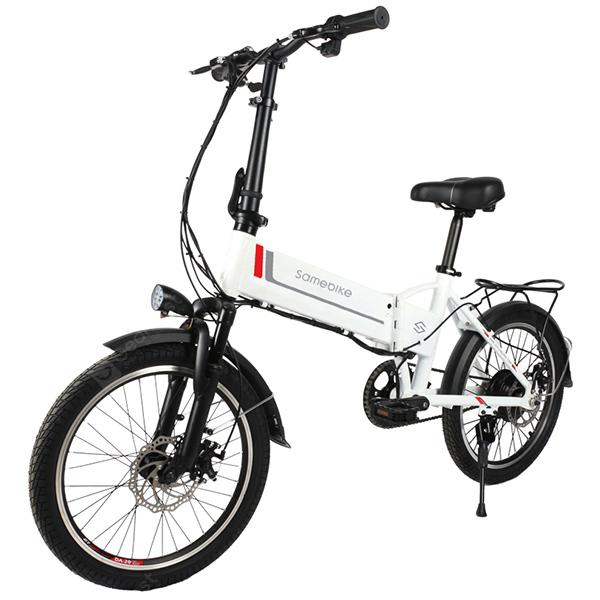 Samebike 20LVXD30 Electric Folding Moped Bicycle E-bike