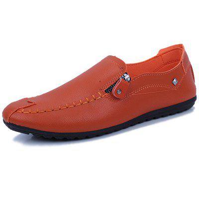 Men Casual Solid Color Anti-Slip Loafer Schuhe
