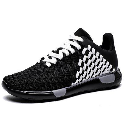 Unisex Breathable Hand-woven Casual Shoes Sneakers