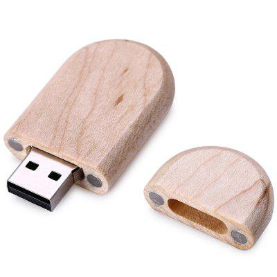 Wood Style 8GB USB Memory Flash Drive Data Storage + Wooden Box