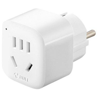 BULL GN - 910G CN to EU Travel Plug Power Adapter
