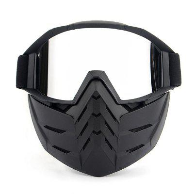 BF651 Universal Motorcycle Goggles with Removable Face Mask orthodontic reverse pull fact mask dental headgear orthodontic face mask adjustable face mask