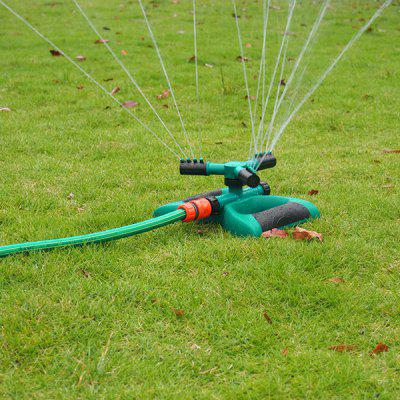 Automatic 360 degree Rotation Garden Lawn Sprinkler 3 Arm Sprayer