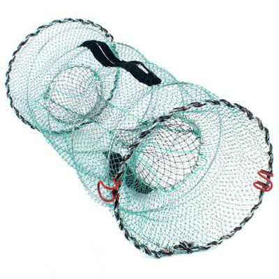 Spring Cage Foldable Fishing Net Tools