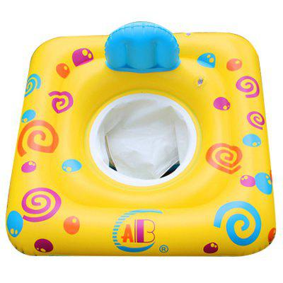 Inflatable Square Shape Children Swimming Ring Seat blue woodpecker thicken green inflatable swimming ring
