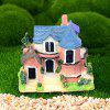 Microlandschaft Resin Mini Villa Model Toy Tafeldecoratie - BLAUWE KLIMOP