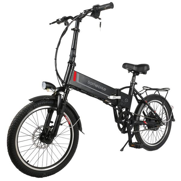 Samebike 20LVXD30 Folding Moped Electric Bike E-bike