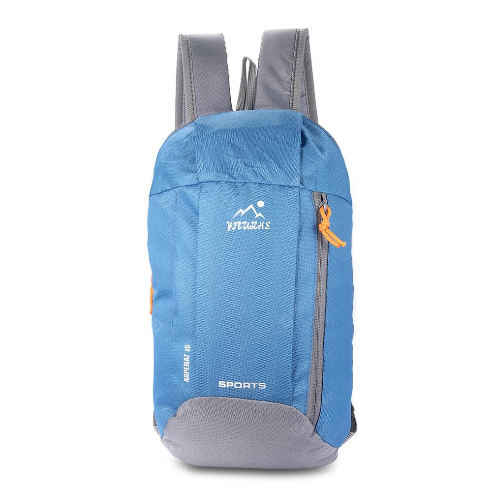 HUWAIJIANFENG Trendy Durable Men Backpack - STEEL BLUE