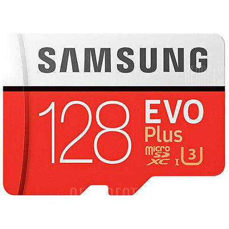 Samsung UHS-3 Class10 Micro SDXC Memory Card - Red 128G