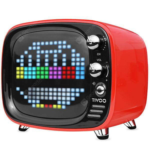 DIVOOM Tivoo Retro Mini Bluetooth Soundbox