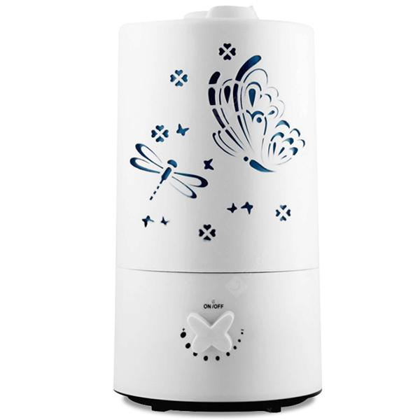 Home Life Large Capacity 7 LED Lights Cylinder 2.1L Ultrasonic Humidifier Aroma Diffuser