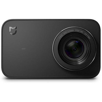 Gearbest Xiaomi Mijia YDXJ01FM Mini 4K 30fps Action Camera International Edition - BLACK