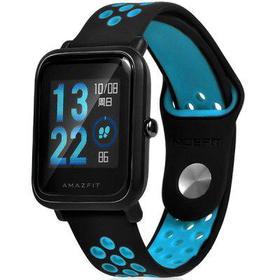 20mm Silicone Watch Band Strap for AMAZFIT Youth Ed.