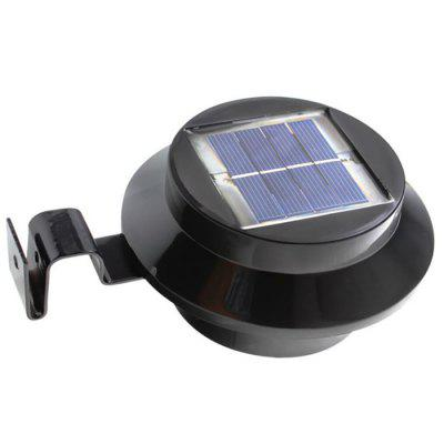3-LED Solar Power Fence Light 4PCS