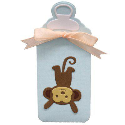 3D Monkey Tag Pattern Cutting Die