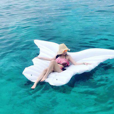 Giant Inflatable Float Butterfly Wing Pool Floating Mat tectop outdoor women s quick drying long sleeve t shirt deep pink white size s