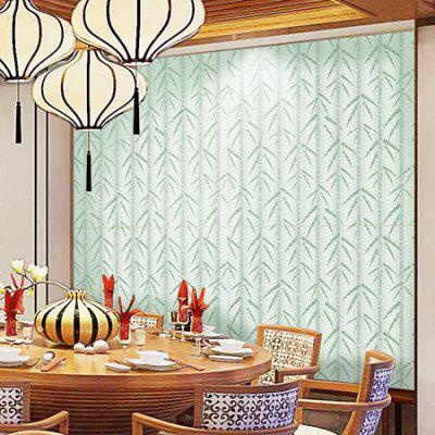 Creative Bamboo Leaves Pattern Pegatinas de pared