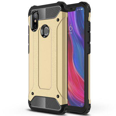 LuanKe Anti-fingerprint Phone Case for Xiaomi Mi 8