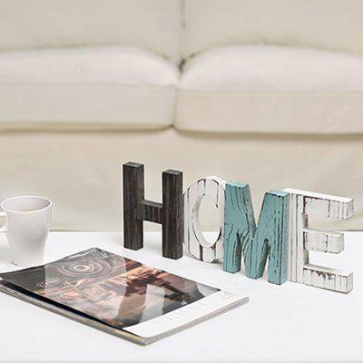 English Word Table Ornament Home Decoration