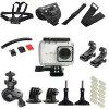 Action Camera Outdoors Riding Accessories Kit - BLACK