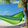 Leisure Outdoor Nylon Ultralight Double Hammock - GREEN ONION
