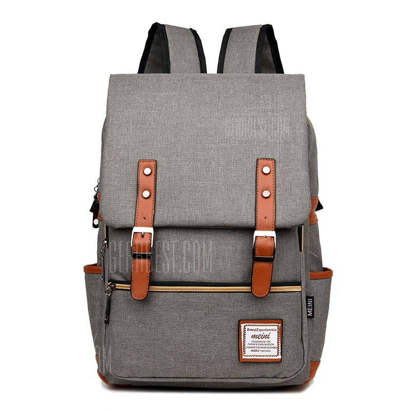 Water-resistant Canvas Backpack