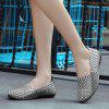 Women Stylish Breathable Anti-slip Woven Casual Shoes - GRAY