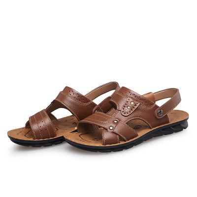 Comfort Men Leather Sandals