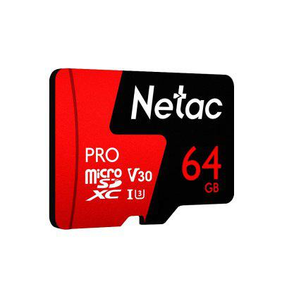 Gearbest Netac P500 PRO TF Card 64GB - FERRARI RED 64G 98MB/s 30MB/s Micro SD Card
