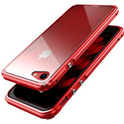 Metal Shatter-resistant Phone Case for iPhone X