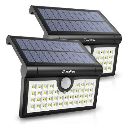 zanflare VCT - SLB - 062 Foldable LED Solar Floodlight Set of 2